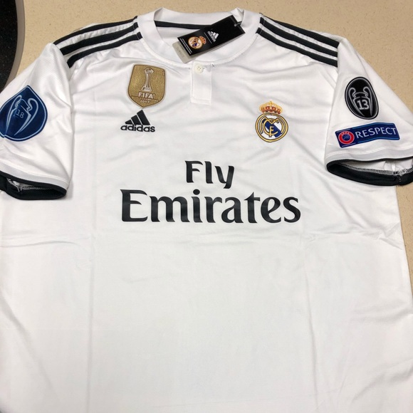 brand new 1be75 ce46c Real Madrid 18-19 Jersey UCL XXL New/Tags #11 Bale NWT
